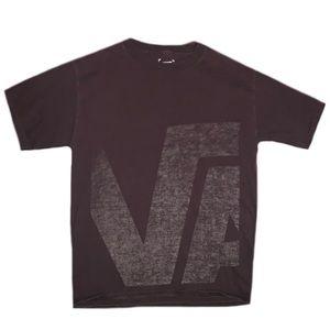 Vans Men's Brown Short Sleeve Shirt